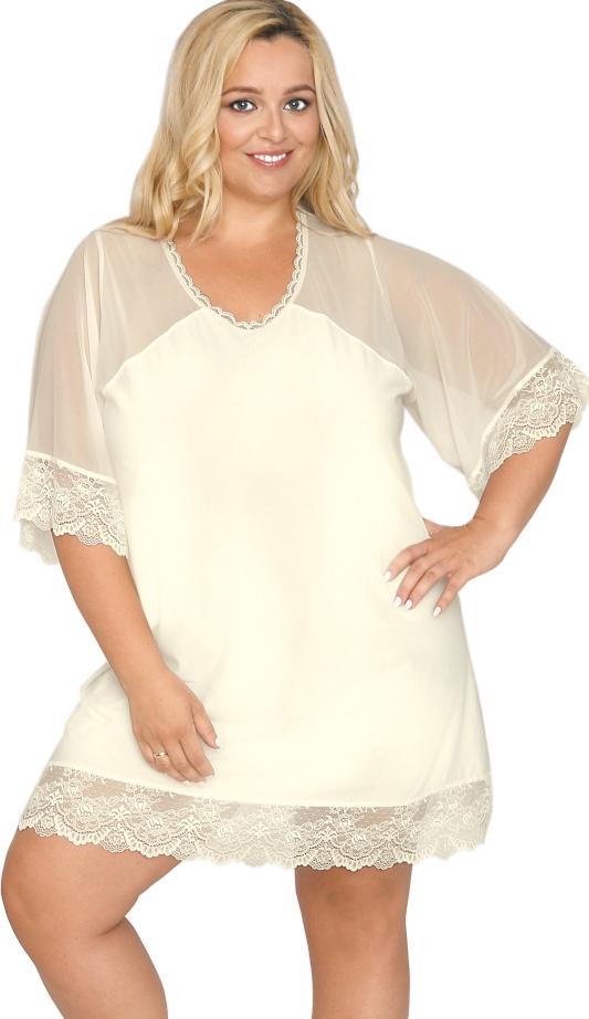 Koszula nocna Akcent model 503 ecru